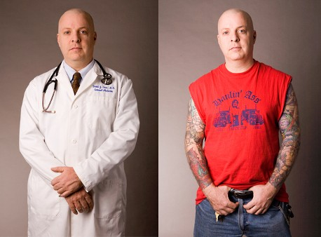 Many professionals not only have tattoos, but full sleeves and body suits.